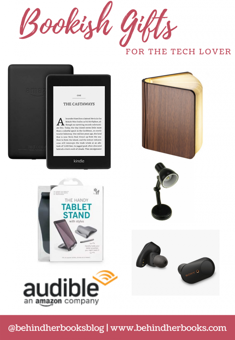 Bookish Gifts for the Tech Lover